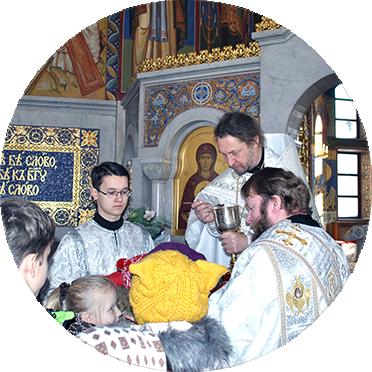 В Храме Рождества Христова